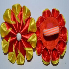 красно-желтые