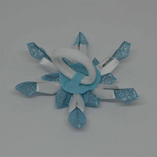 """17bb snezhinka 510x510 - Резинки для волос """"Снежинка"""""""