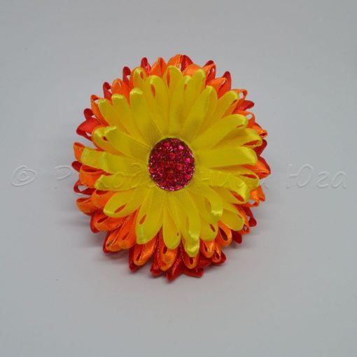 """19n xrizantema 1000 1000 510x510 - Резинки для волос """"Хризантема"""""""