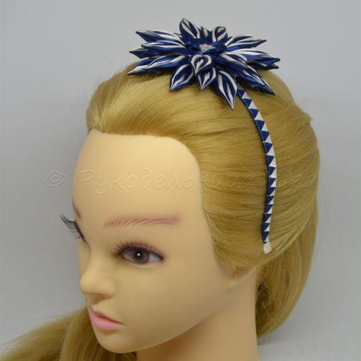 1ae georgina 510x510 - Ободочек для волос Георгина