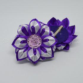 фиолетово-белое
