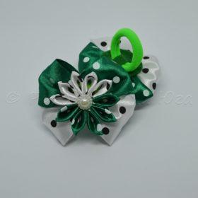 зелен-белый