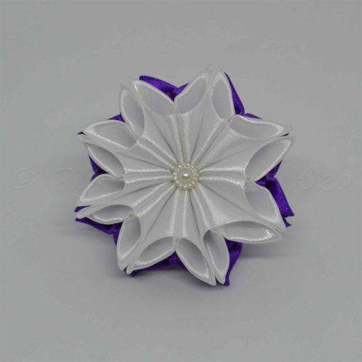 """62aa zimnij tsvetok 510x510 - Резинки для волос """"Зимний цветок"""""""