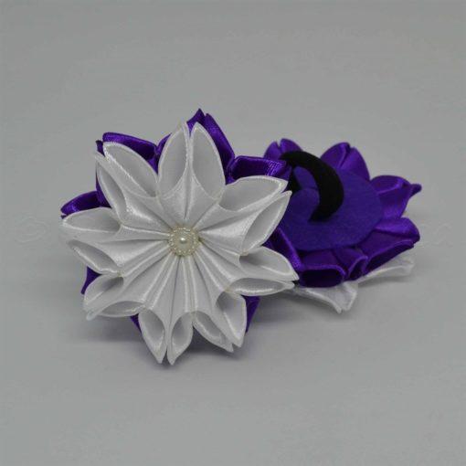 """62ac zimnij tsvetok 510x510 - Резинки для волос """"Зимний цветок"""""""