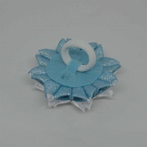 """62cb zimnij tsvetok 510x510 - Резинки для волос """"Зимний цветок"""""""