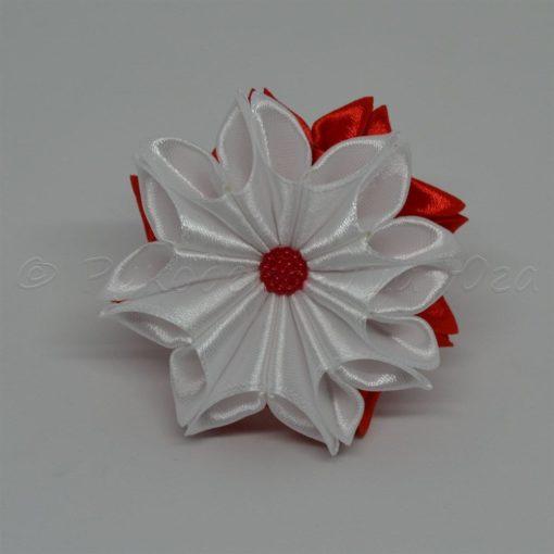 """62da zimnij tsvetok 510x510 - Резинки для волос """"Зимний цветок"""""""