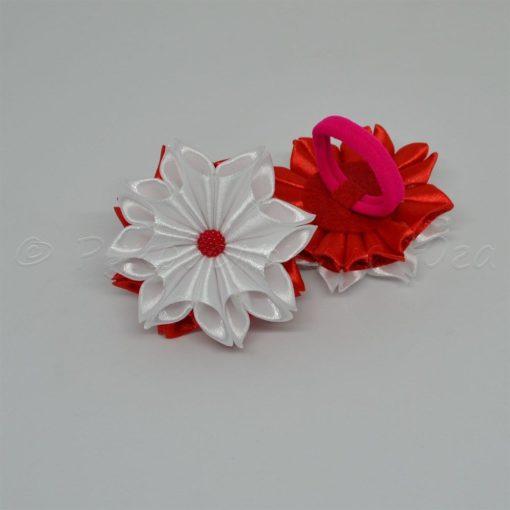 """62dc zimnij tsvetok 510x510 - Резинки для волос """"Зимний цветок"""""""
