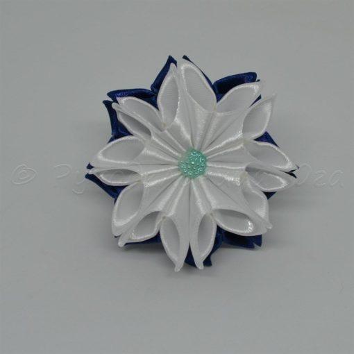 """62ea zimnij tsvetok 510x510 - Резинки для волос """"Зимний цветок"""""""