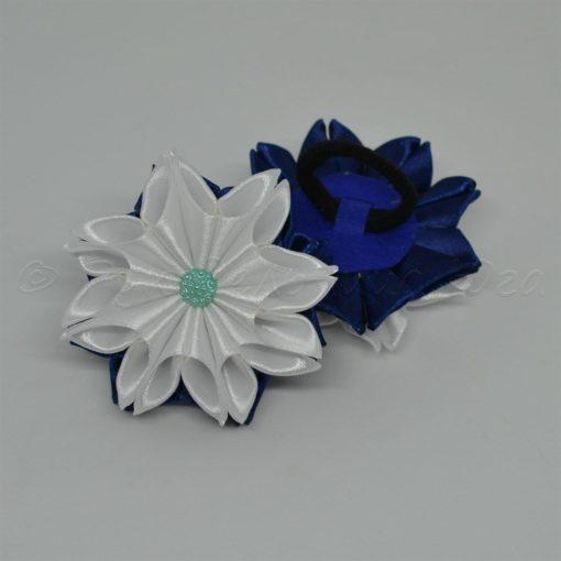 """62ec zimnij tsvetok 510x510 - Резинки для волос """"Зимний цветок"""""""